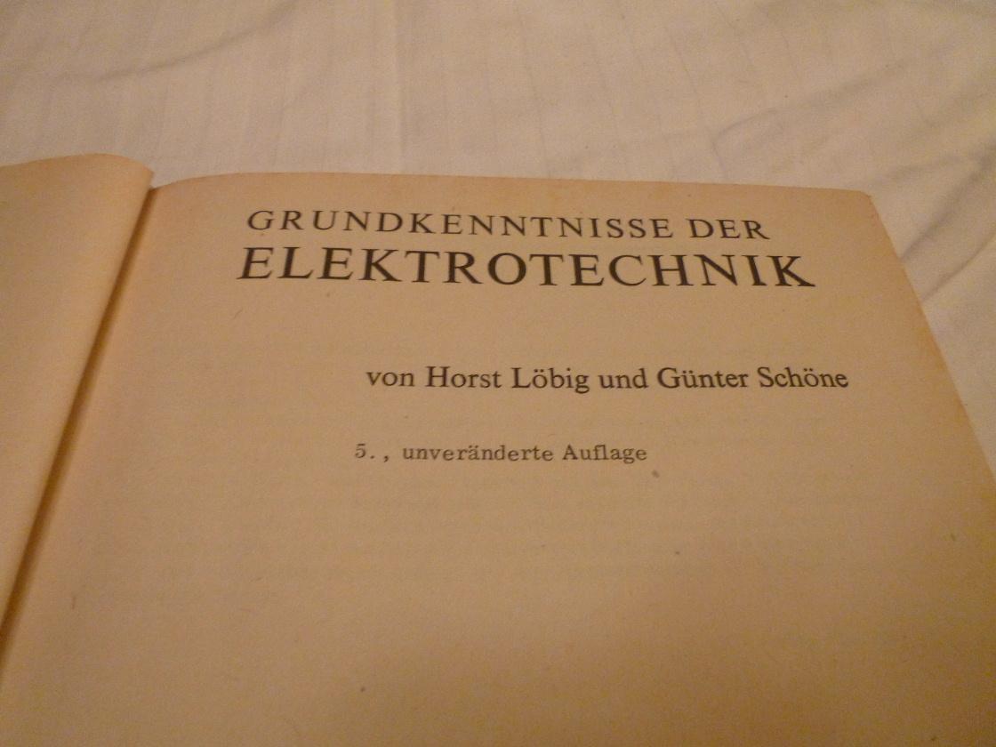 Grundkenntnisse der Elektrotechnik Strom kaufen auf ricardo.ch